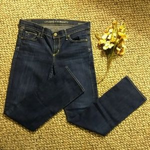 Citizens of Humanity Low Rise Straight Leg Jean
